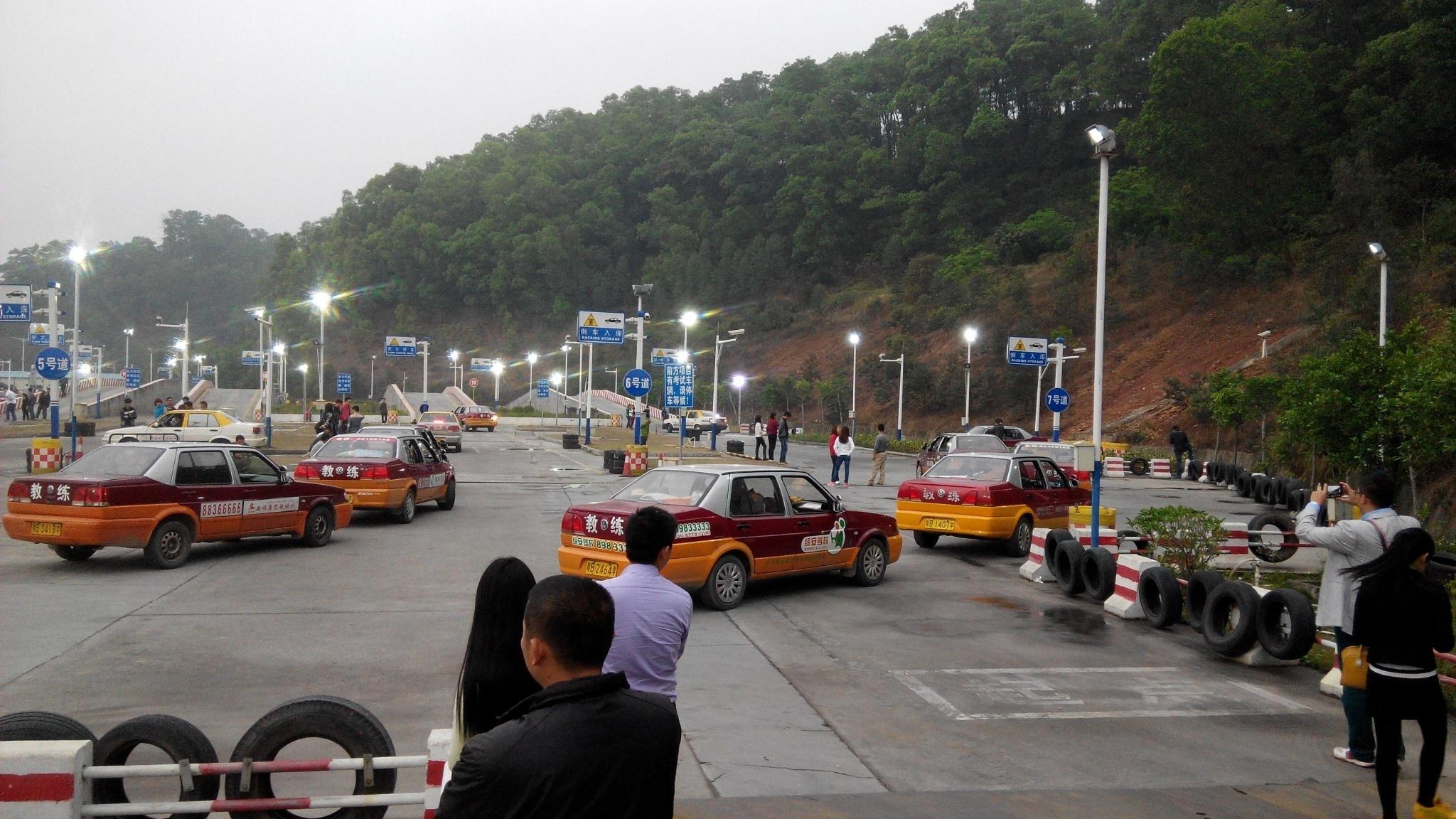 automotive Training Course replacement lighting project in Shenzhen